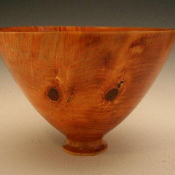 Turned Norfolk Pine Bowl by Artist Syd Vierra