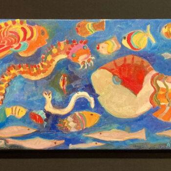 Original Oil by Artist by Pamela Andelin