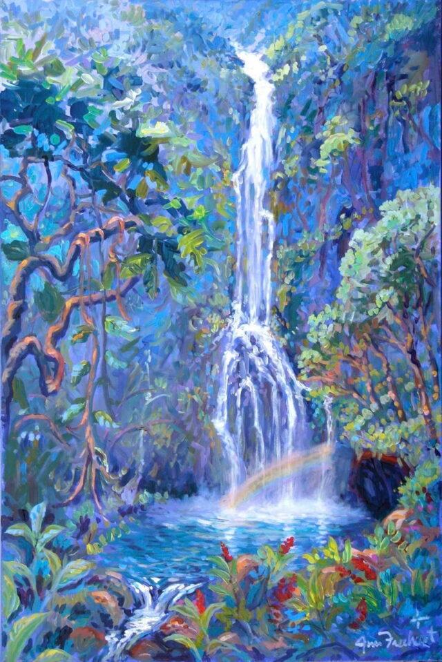 Original Acrylic by Artist Jim Freeheart