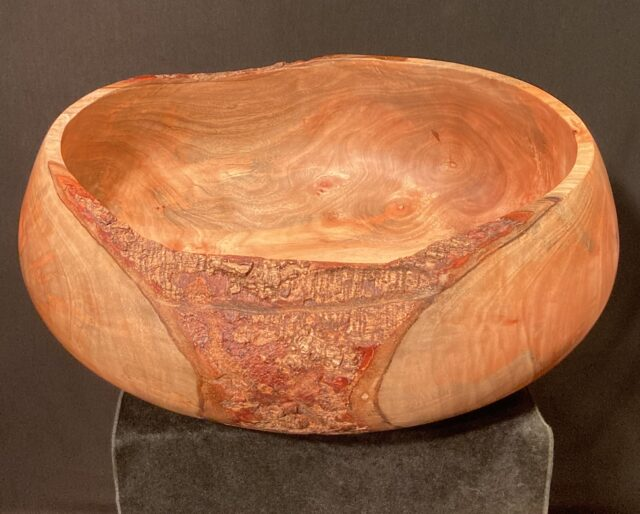 Natural Edge Bowl by Artist Kapahikaua Haskell