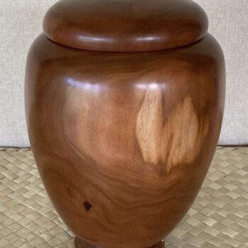 Turned Wooden Vessel by Artist Kapahikaua Haskell