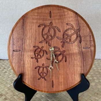 Koa Clocks by Artist Debbie and Parker Nicholson