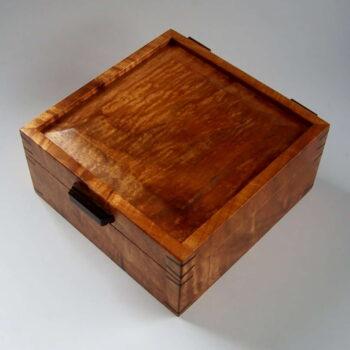 Koa Box by Artist Tom Pasquale