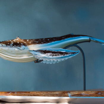 Handblown Glass by Artist Evan Schauss
