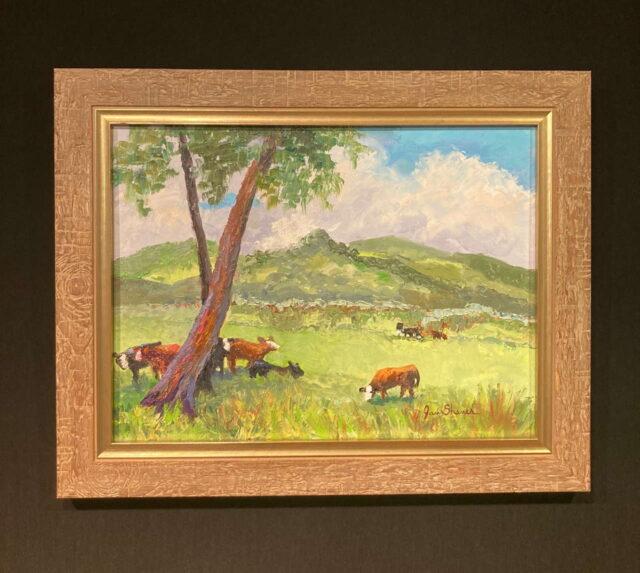 Original Oil by Artist Jan Shaner