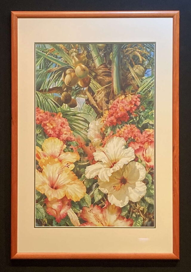 Palms of Paradise Limited Edition Giclees by Artist Darryl Trott