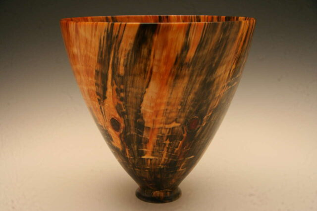 Turned Norfolk Pine Bowl by Artist Syd Vierra