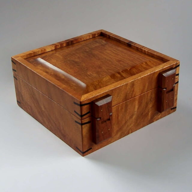 Koa Box by Artist Tom and Julie Pasquale