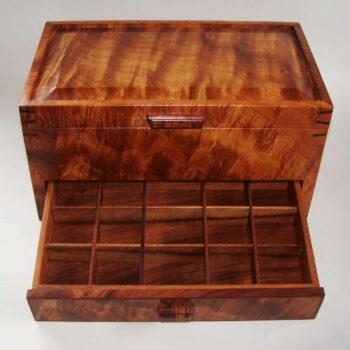 Tom and Julie Pasquale Heirloom Koa Box Woodworking