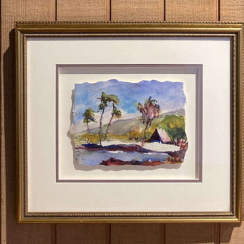 Margaret Bedell Original Watercolor