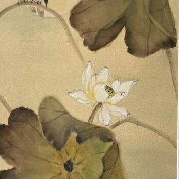 Original Watercolor by Artist Hiroko Thomson