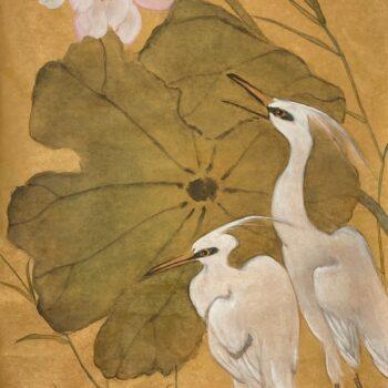 Original Watercolor by Artist Hiroko Thomso