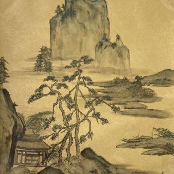 High Mountain Original Watercolor by Artist Hiroko Thomson