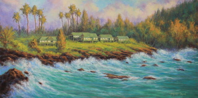 Original Oil by Artist Hans Olson
