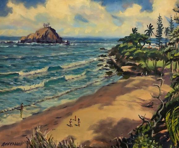 Original Oil by Artist Paul Arsenault
