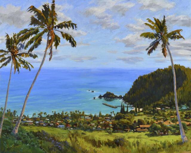 Original Oil by Artist Jan Bushart