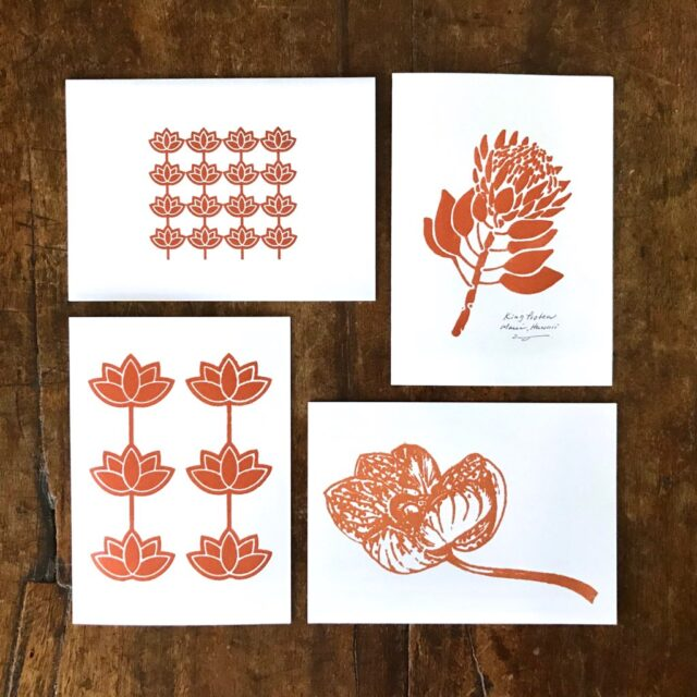 Hilo Ohtakagi Aloha Greeting Card Set