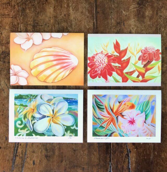 Hilo Ohtakagi Aloha Greeting Card Set