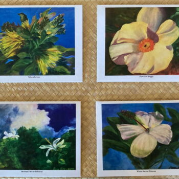 Pam Peterson Aloha Greeting Card Set