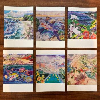 Sybil Sea Aloha Greeting Cards Set