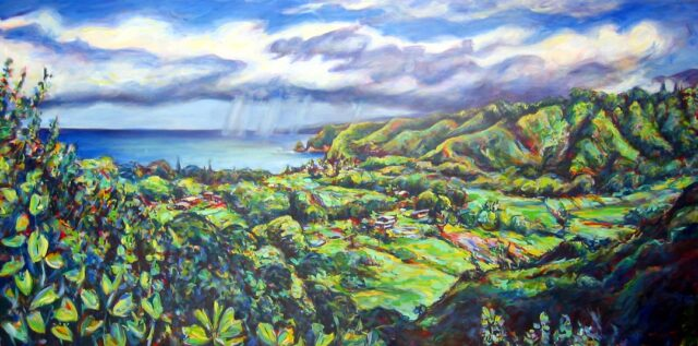 Original Oil by Artist Maggie Sutrov