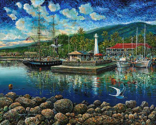 Limited Edition Giclee by Artist Robert Lyn Nelson