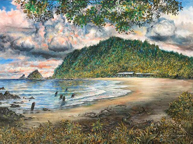 Original Oil by Artist Robert Lyn Nelson
