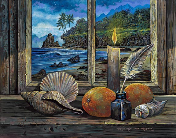 Limited Edition Giclee on Canvas by Artist Robert Lyn Nelson
