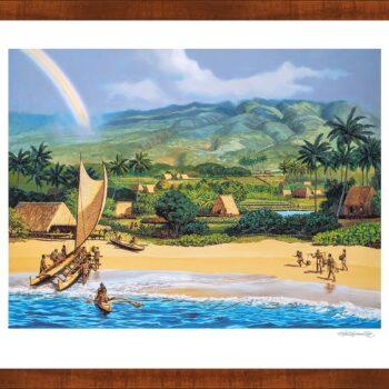 Limited Edition Fine Art Prints by Herb Kawainui Kane